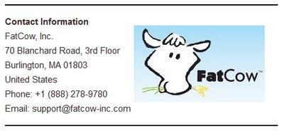 Contact Details Fatcow