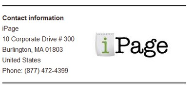 Contact Details of Ipage