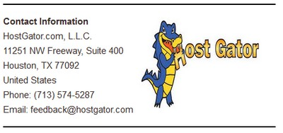 hostgator phone