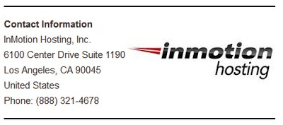 Inmotion Contact Info